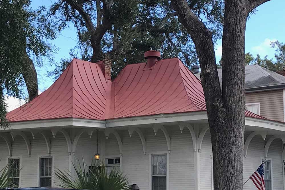 Metal Roofing.