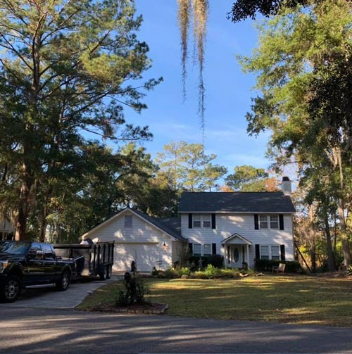 best roofer Savannah just finished this roof in Buckhead GA Coastal Roofing & Restorarion.