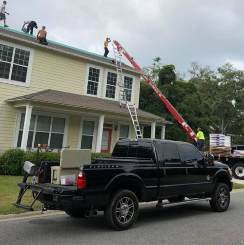 best roofer Savannah just finished this roof in Savannah GA for Texaco Lube Coastal Roofing & Restorarion.