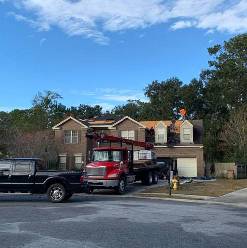 best roofer Savannah just finished this roof in Wilmington Island GA Coastal Roofing & Restorarion.